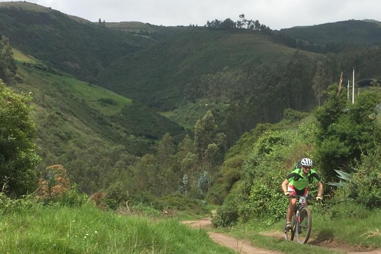370 kilometers pure Andes